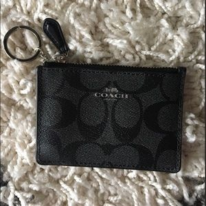 NWT Black Coach Wallet/Wristlet